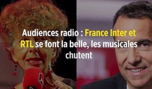 Audiences radio : France Inter et RTL se font la belle, les musicales chutent