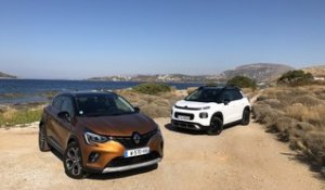 Comparatif - Renault Captu 2 vs Citroën C3 Aircross