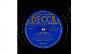 "Freddie ""Schnickelfritz"" Fisher And His Orchestra - Superman (1941)"