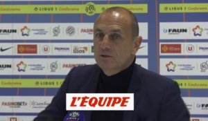 Der Zakarian «On défend mal» - Foot - L1 - Montpellier