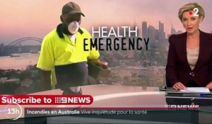 Incendies en Australie : des médecins alertent sur la pollution de l'air