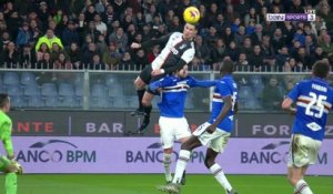 'Air' Cristiano Ronaldo scores winner against Sampdoria