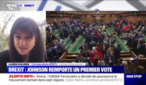 Accord du Brexit: Boris Johnson remporte un premier vote au nouveau Parlement