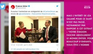 Léa Salamé : critiquée après son interview de Carlos Ghosn, sa direction réagit