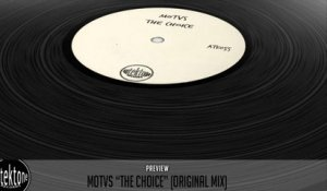 MOTVS - The Choice (Original Mix) - Official Preview (Autektone Records)