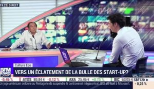 Culture éco: Vers un éclatement de la bulle des start-up ? par Michel Turin - 14/02