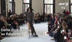 Paris Fashion Week : défilé Rick Owens
