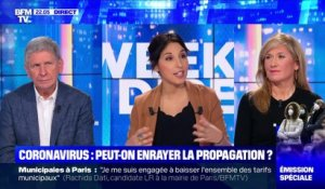 Coronavirus: peut-on enrayer la propagation ? - 01/03