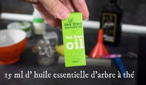Covid-19 : attention au gel hydroalcoolique fait maison