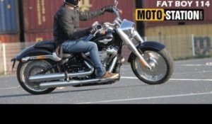 Essai Harley Davidson Fat Boy 114 2018 : Le Mythe Revisité !