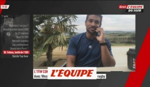 L'interview confinement de Wesley Fofana - Rugby - Clermont - Coronavirus