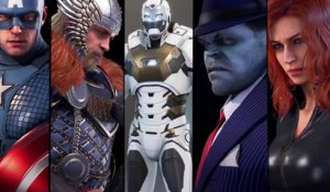 Marvel's AVENGERS Gameplay CUSTOMISATION des COSTUMES