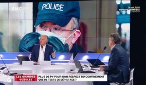 Le monde de Macron: plus de PV pour non respect du confinement que de tests de dépistage ? - 04/05