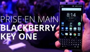 Prise en main du Blackberry KEYOne au MWC 2017
