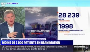 Coronavirus: moins de 2000 patients en réanimation en France