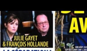 Julie Gayet, François Hollande, la rupture,  brisés  par le confinement
