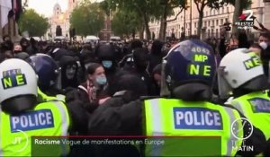 Racisme : vague de manifestations en Europe