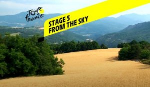 Tour de France 2020 - Étape 5 vue du ciel / Stage 5 from the sky : Gap - Privas