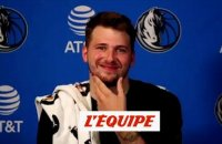 Luka Doncic : «Jouer m'a beaucoup manqué» - Basket - NBA - Dallas Mavericks