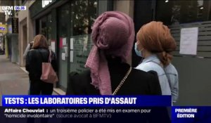 Tests: les laboratoires pris d'assaut