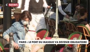 Paris : le port du masque va devenir obligatoire