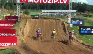 Guadagnini vs. Benistant - EMX250 Race 2 - Round of Latvia 2020 #motocross