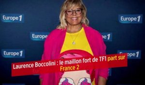 Laurence Boccolini : le maillon fort de TF1 part sur France 2