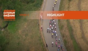 Critérium du Dauphiné 2020 - Stage 1 - Stage highlights