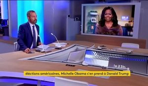Etats-Unis : Michelle Obama s'en prend à Donald Trump
