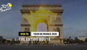 #TDF2020 - Discover the entire route