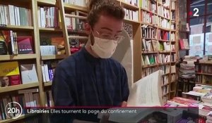Culture : les librairies tournent la page du confinement