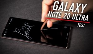 Test complet du Galaxy Note 20 Ultra