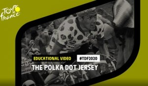 #TDF2020 The Polka Dot Jersey in details