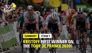#TDF2020 - Stage 1 - Highlights