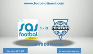 TALENT FOOT NATIONAL - 2eme journée N2 Groupe B