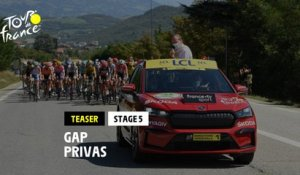 #TDF2020 - Étape 5 / Stage 5: Gap / Privas - Teaser