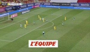 Les buts de Roumanie-Irlande du Nord - Foot - Ligue des nations