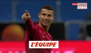 Le 100e but de Ronaldo en sélection - Foot - POR