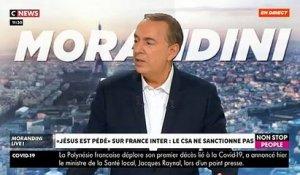 "L'avocat Gilles-William Goldnadel dans ""Morandini Live"": ""90% des journalistes de France Inter sont de gauche"" - VIDEO"