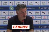 Galtier : « On n'a pas su tuer le match » - Foot - L1 - LOSC