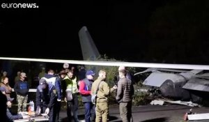 Ukraine : crash d'un avion militaire, 25 tués