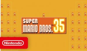 Super Mario Bros. 35 - Launch Trailer - Nintendo Switch