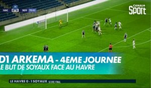 Le but de Soyaux face au Havre
