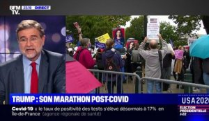 USA 2020 – Trump: son marathon post-Covid