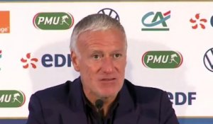 Football - Nations League - Didier Deschamps après France 0-0 Portugal