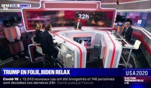 USA 2020 – Trump en folie, Biden relax