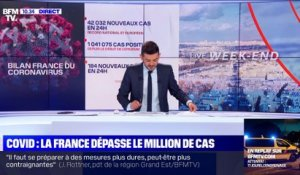 Covid: la France dépasse le million de cas - 24/10