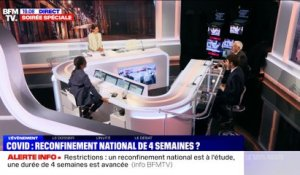 Vers un reconfinement national plus souple - 27/10