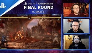 Mortal Kombat 11 - Final Round: MK2eZ's Open Series Journey Motivation Against Tough Opponents | PS4