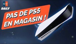 PAS DE PS5 EN MAGASIN ! - JVCom Daily